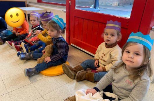 kids inside the school